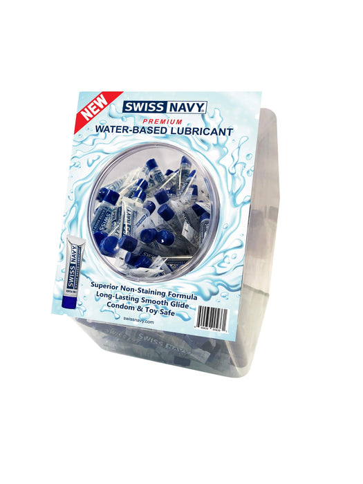 water based lubricant 10ml 100pc fishbowl display cheap sex toys