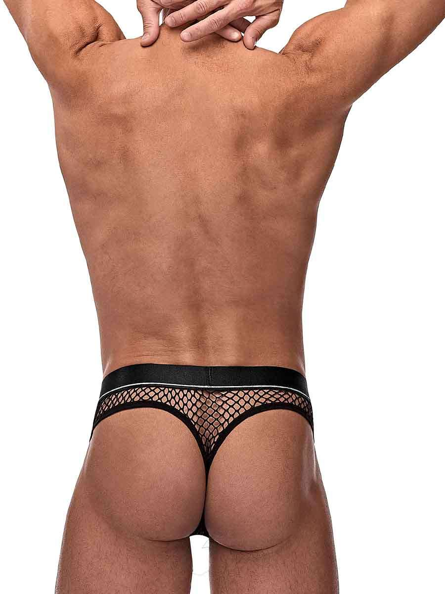 cock pit net cock ring thong s m black