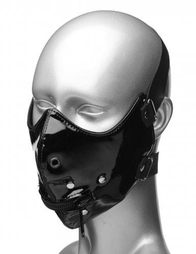 lektor zipper mouth muzzle