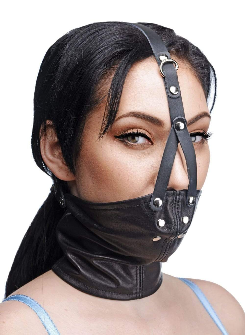 face harness with stuffer gag