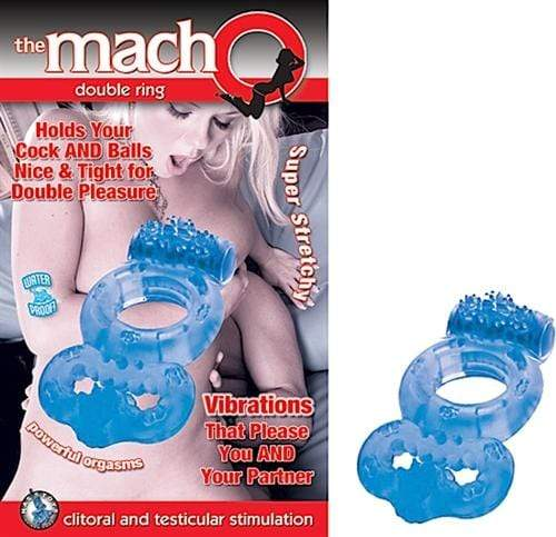 the macho double ring blue