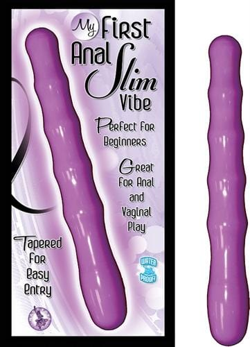 my first anal slim vibe purple