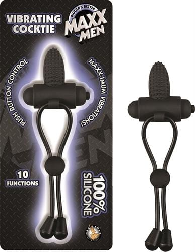 maxx men vibrating cocktie black