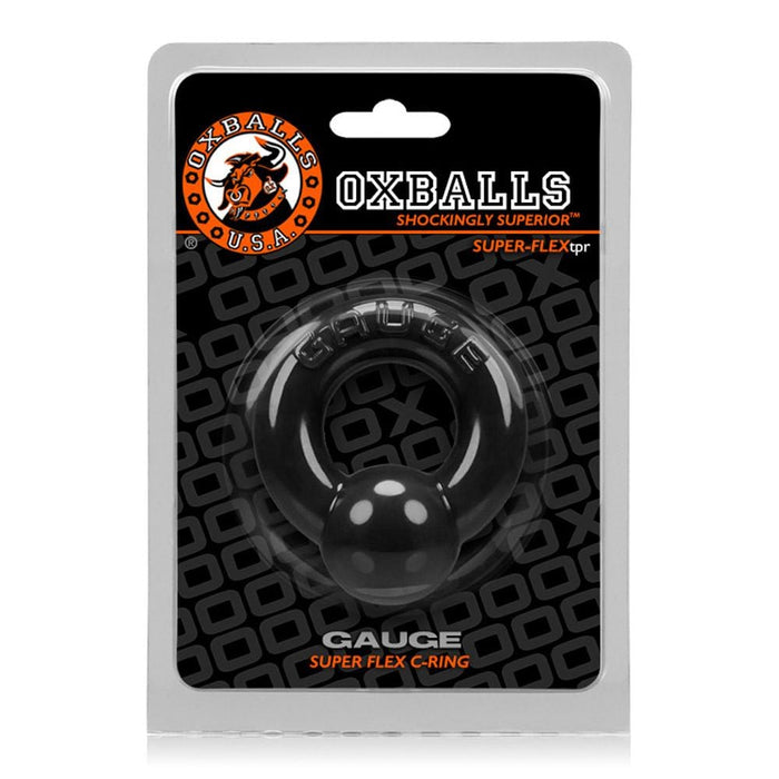 oxballs gauge cockring black cheap sex toys