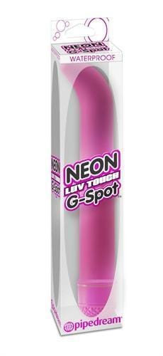 neon luv touch g spot pink cheap sex toys