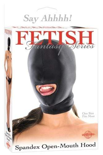 fetish fantasy series spandex open mouth hood cheap sex toys