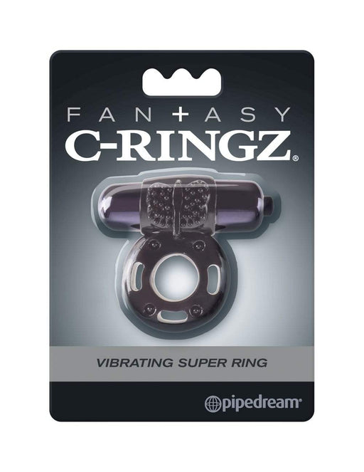 fantasy c ringz vibrating super ring black