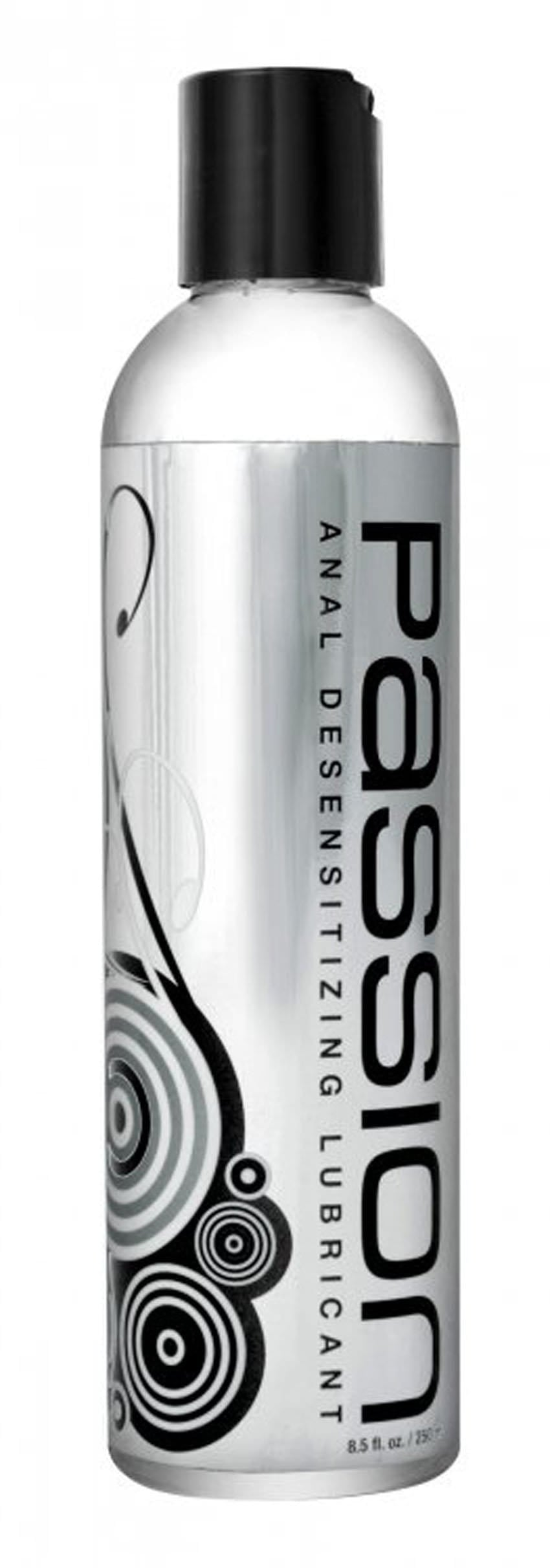 passion anal desensitizing lubricant with lidocaine 8 5 fl oz