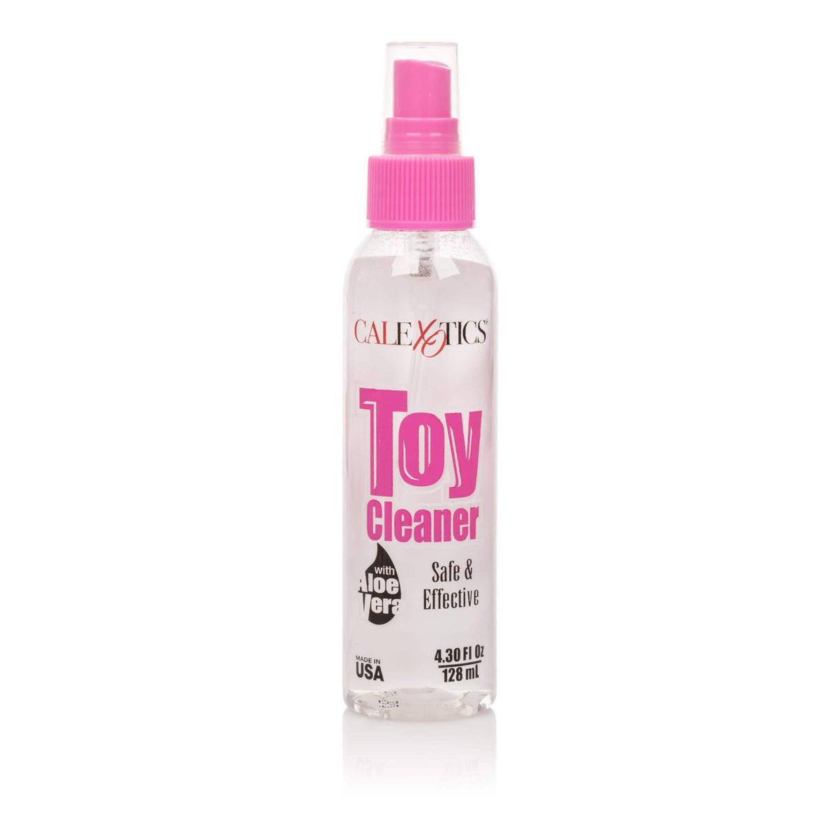 calexotics   universal toy cleaner with aloe 4 3 fl oz