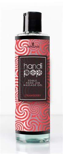 handi pop handjob massage gel strawberry 4 2 oz