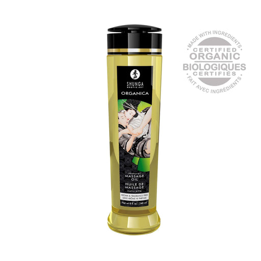 organica massage oils naturelle 8 fl oz