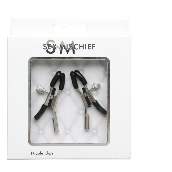 Sex and Mischief Nipple Clips