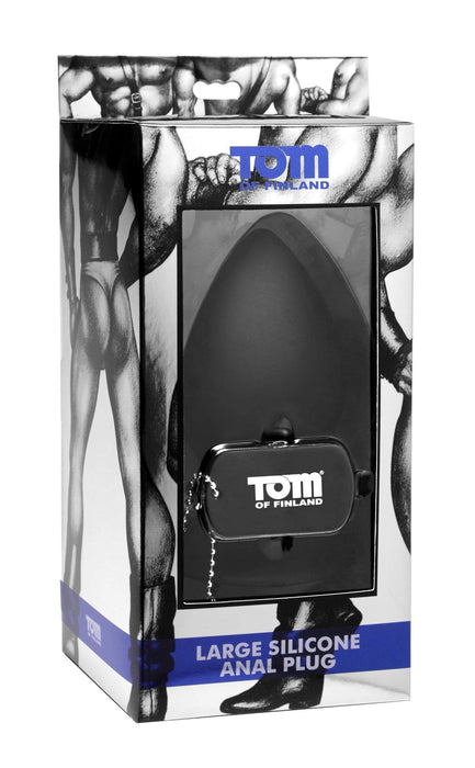 tom of fin silicone anal plug xl large