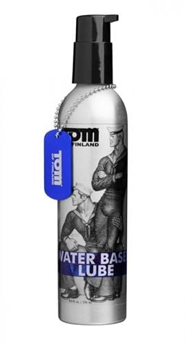 tom of fin water based lube 8 oz