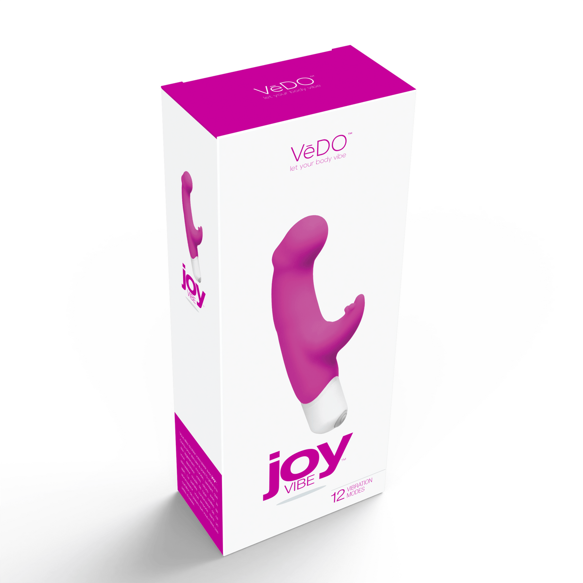 joy mini vibe hot in bed pink