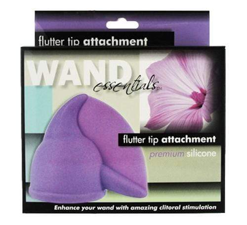 flutter tip wand attachment purple