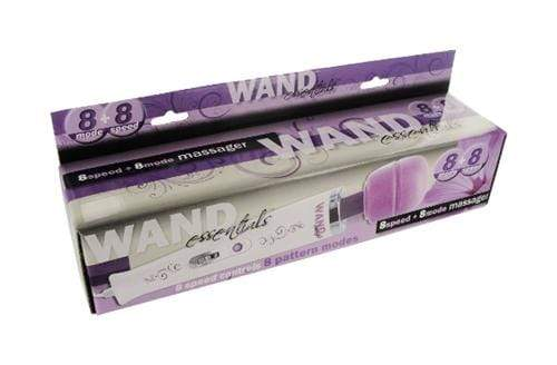 8 speed 8 function wand 110v purple