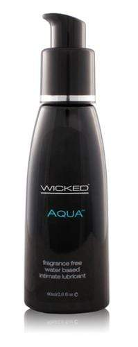 aqua water based lubricant 2 oz