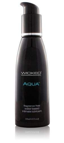 aqua water based lubricant 4 oz