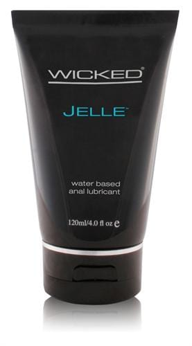jelle water based anal lubricant 4 oz