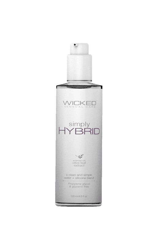 simply hybrid fragrance free lube 4oz 120ml