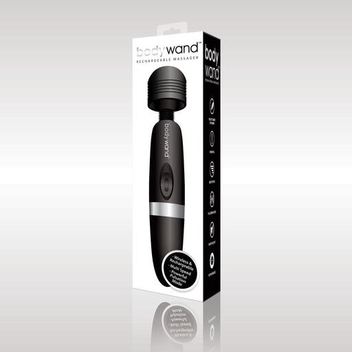 bodywand rechargeable massager black