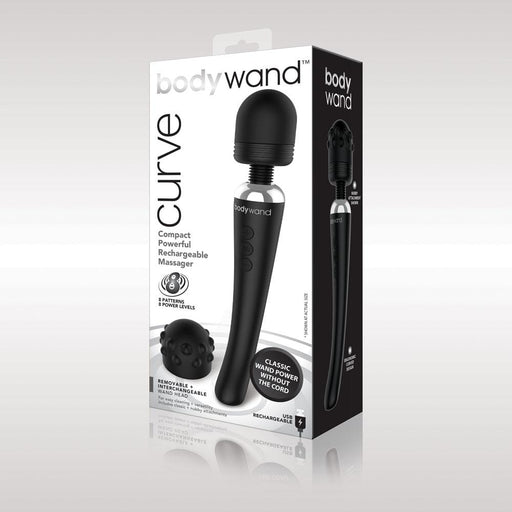 bodywand curve rechargeable black