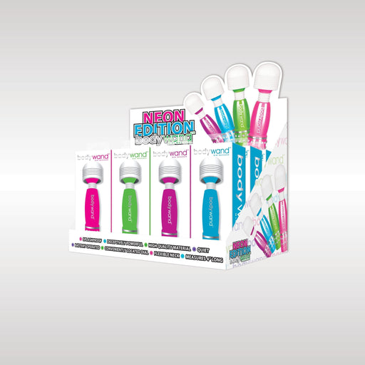 bodywand mini neon edition 12 pc display