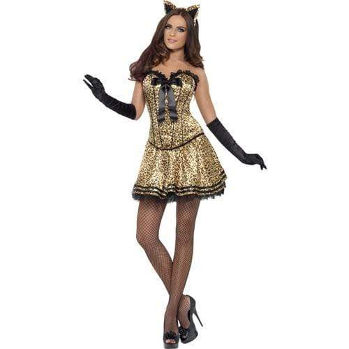 fever boutique kitty costume large