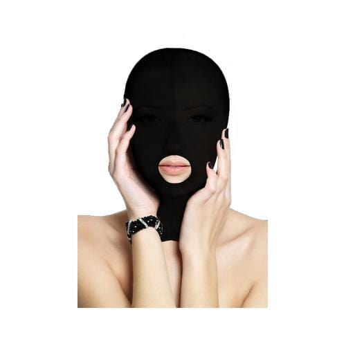 submission mask black cheap sex toys