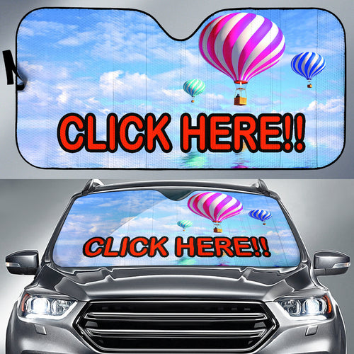 Your image or design on a Auto Sun shade