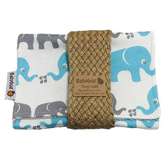 Burp Cloth, Elefanter|Burp Cloth, Elephants