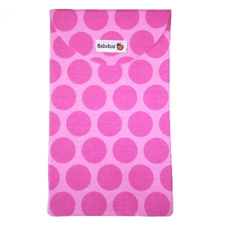 Blöjväska kuvert, Prickig|Diaper Clutch, Dotties