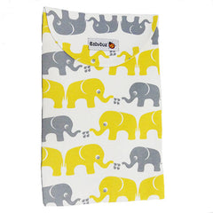 Blöjväska kuvert, Elefanter|Diaper Clutch Elephants