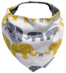Scarf, Elefanter|Bib, Elephants