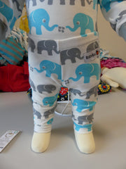 Leggings, Elefanter|Leggings, Elephants