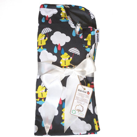 Babyfilt, Regn|Baby Blanket, Singing in the rain