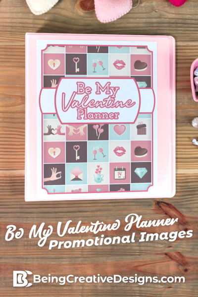 Be My Valentine Planner Promotional Mockups