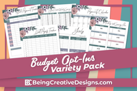 Budget Opt-in Variety Pack - Floral Style