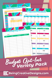 Budget Opt-in Variety Pack {10 Pages} - Bright