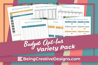 Budget Opt-in Variety Pack - Geometric