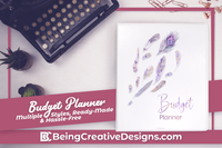 Budget Planner & Promotional Resources - Feathers