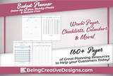 Budget Planner & Promotional Resources - Navy