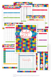 Budget Planner Colorful