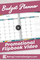 Budget Planner Promotional Video - Geometric
