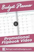 Budget Planner Promotional Video - Navy