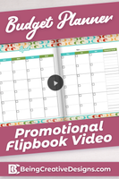 Budget Planner Promotional Video - Retro