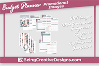 Budget Planner & Promotional Resources - Floral