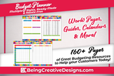 Colorful Budget Planner Information