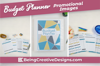 Budget Planner & Promotional Resources - Geometric